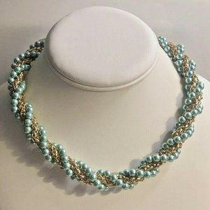 Charter Club Necklace Gold-Tone Imitation Pearl